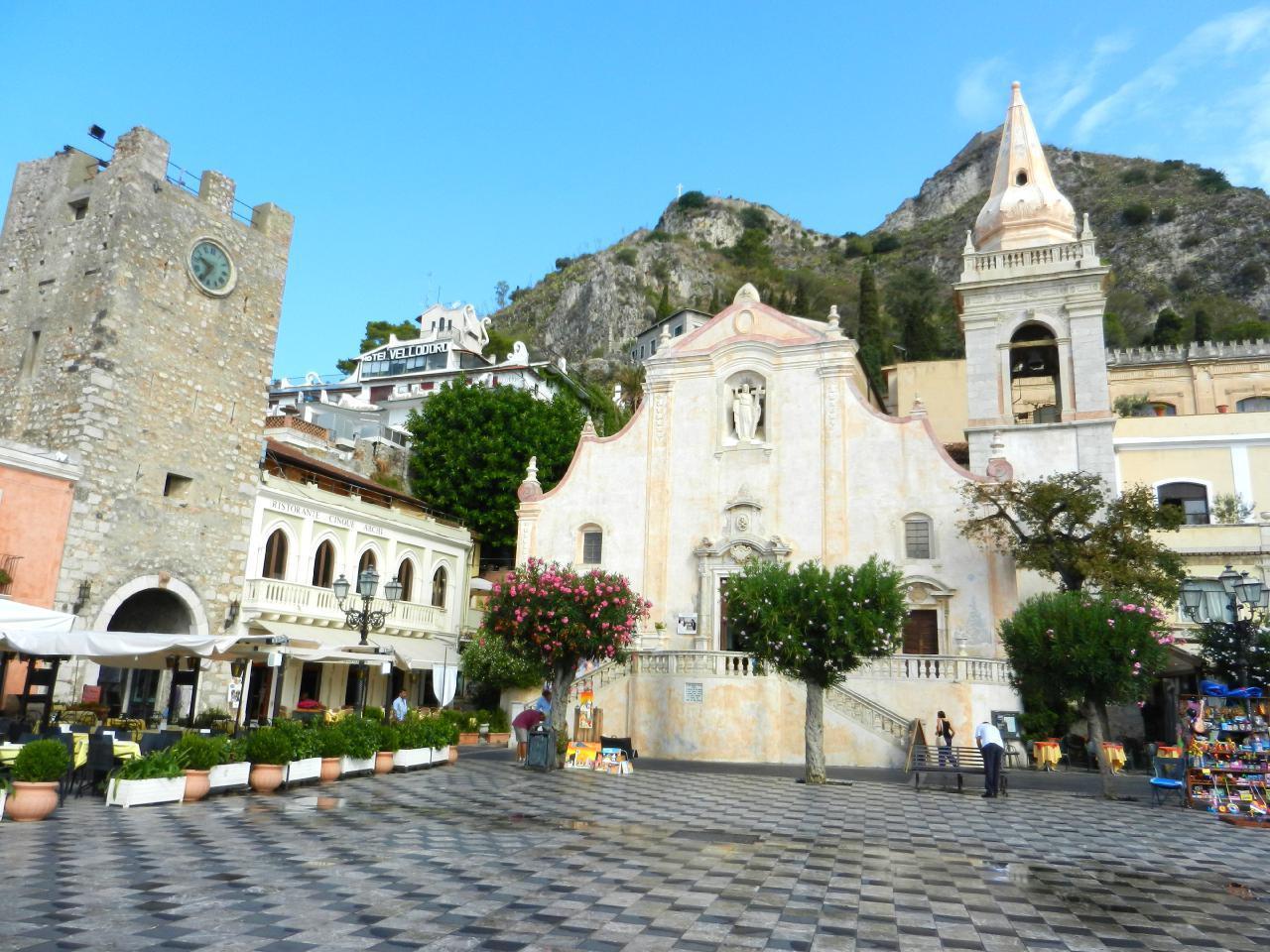 Appartement de vacances Fewo mit Balkon im Panorama-Dorf bei Taormina (737398), Forza d'Agro', Messina, Sicile, Italie, image 15