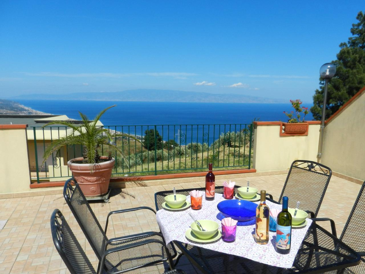 Holiday apartment Fewo mit Terrasse im Panorama-Dorf bei Taormina (737399), Forza d'Agro', Messina, Sicily, Italy, picture 10