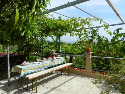 Holiday apartment Fewo mit Terrasse im Panorama-Dorf bei Taormina (737399), Forza d'Agro', Messina, Sicily, Italy, picture 14