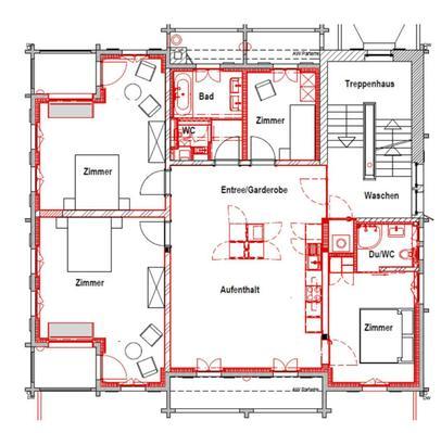 Ferienwohnung Renovierte Jugendstilwohnung in Wengen (757468), Wengen, Jungfrauregion, Berner Oberland, Schweiz, Bild 7