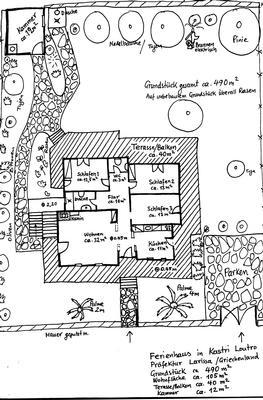 Ferienhaus Strand Kastri Loutro, 150 Meter vom Strand ! NAHE PLATAMON-NEOI POROI (757886), Kastri Loutro, , Thessalien, Griechenland, Bild 17