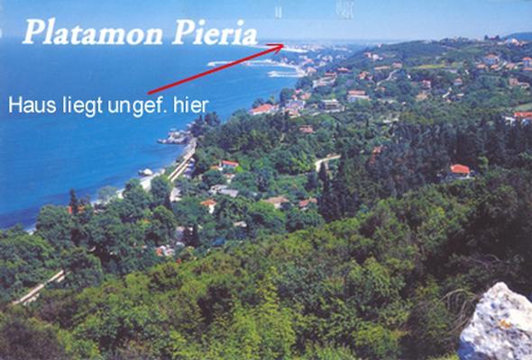 Ferienhaus Strand Kastri Loutro, 150 Meter vom Strand ! NAHE PLATAMON-NEOI POROI (757886), Kastri Loutro, , Thessalien, Griechenland, Bild 15