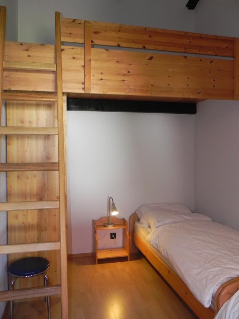 Kinderschlafzimmer mit Hochbett