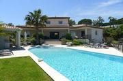 Villa in Sainte Maxime mit Sicht auf Meer Villa