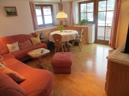 Ferienwohnung Gästehaus am Berg,Ferienwohnung Panorama, 3 Schlafzimmer (771657), Hirschegg, Kleinwalsertal, Vorarlberg, Österreich, Bild 3