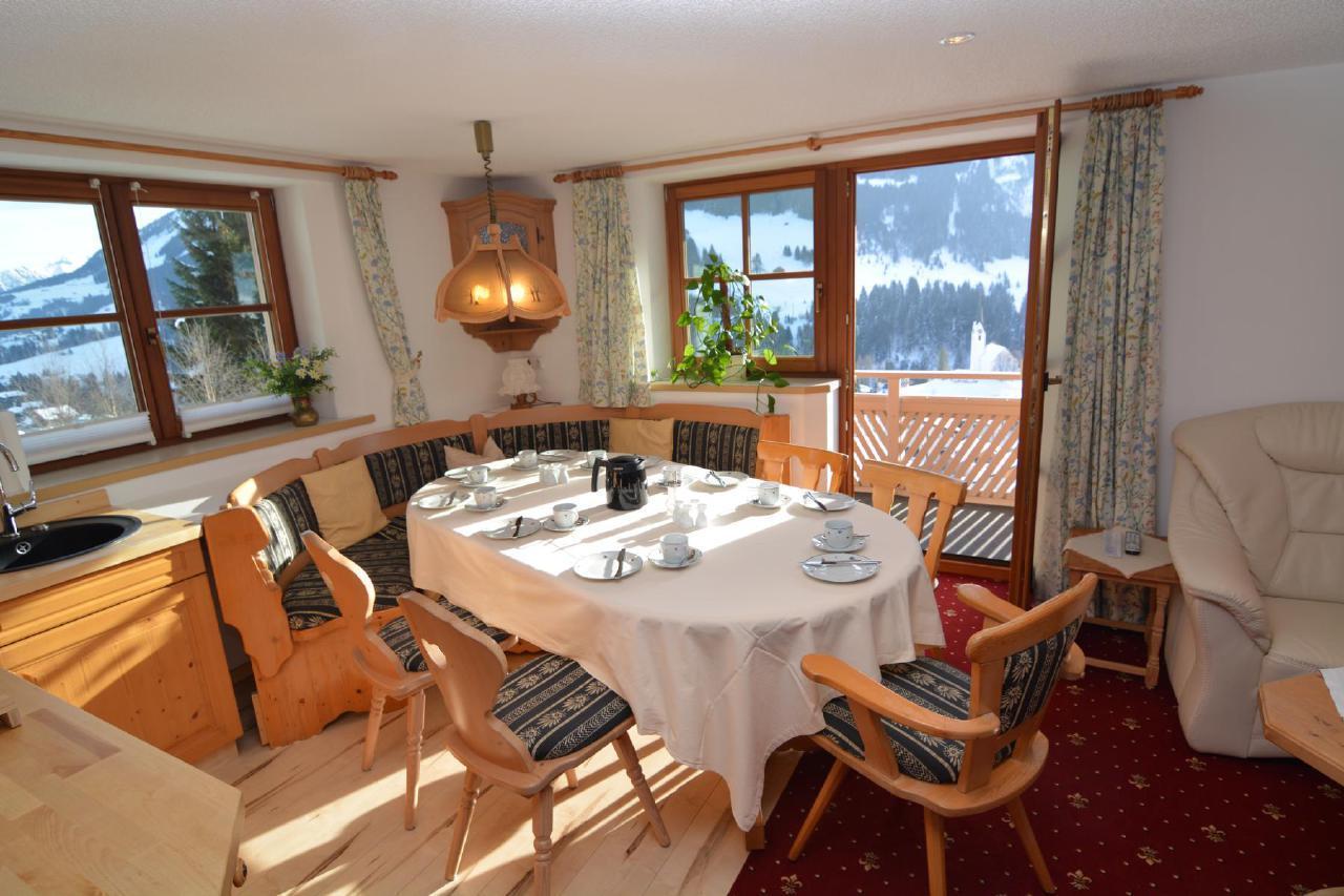 Ferienwohnung Gästehaus am Berg, Ferienwohnung Kanzelwand, 4 Schlafzimmer (772001), Hirschegg, Kleinwalsertal, Vorarlberg, Österreich, Bild 6