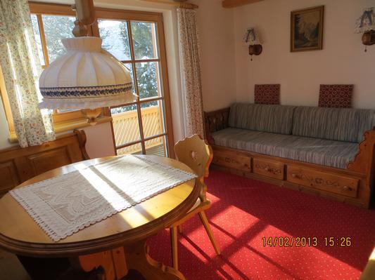 Ferienwohnung Gästehaus am Berg, Ferienwohnung Widderstein, 1 Schlafzimmer (772003), Hirschegg, Kleinwalsertal, Vorarlberg, Österreich, Bild 12