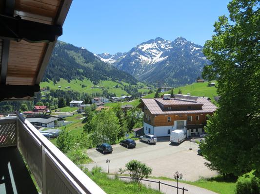Ferienwohnung Gästehaus am Berg, Ferienwohnung Widderstein, 1 Schlafzimmer (772003), Hirschegg, Kleinwalsertal, Vorarlberg, Österreich, Bild 15