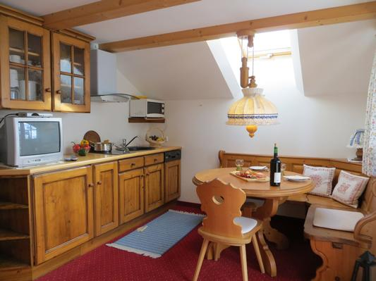 Ferienwohnung Gästehaus am Berg, Ferienwohnung Widderstein, 1 Schlafzimmer (772003), Hirschegg, Kleinwalsertal, Vorarlberg, Österreich, Bild 6
