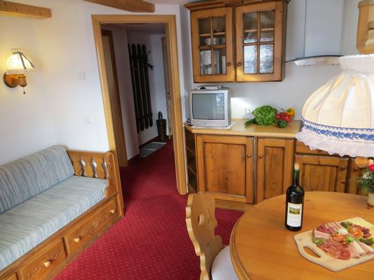 Ferienwohnung Gästehaus am Berg, Ferienwohnung Widderstein, 1 Schlafzimmer (772003), Hirschegg, Kleinwalsertal, Vorarlberg, Österreich, Bild 7