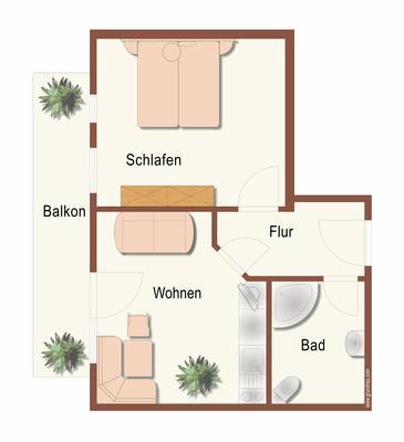 Ferienwohnung Gästehaus am Berg, Ferienwohnung Widderstein, 1 Schlafzimmer (772003), Hirschegg, Kleinwalsertal, Vorarlberg, Österreich, Bild 17
