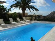 Exklusives Apartment mit Meerblick, Kamin, offener Ferienwohnung in Spanien