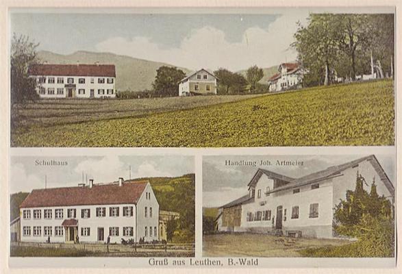 Ferienwohnung Altes Schulhaus in Leithen - Bernried (79131), Bernried, Bayerischer Wald, Bayern, Deutschland, Bild 2