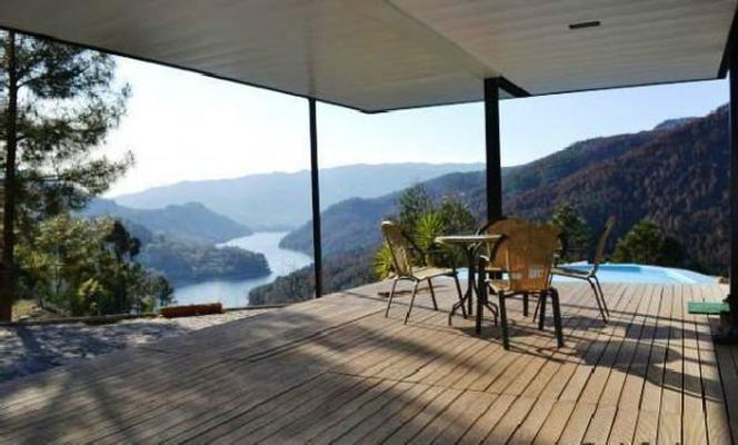 Ferienhaus Modernes Ferienhaus mit Pool, Natur-Blick im Gebirge. (792704), Vieira do Minho, Montanhas, Nord-Portugal, Portugal, Bild 1