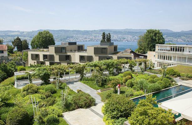 Ferienwohnung TERTIANUM - moderne 3 Zimmer Wohnung direkt am Zürichsee (806042), Meilen, Zürichsee, Zürich, Schweiz, Bild 1