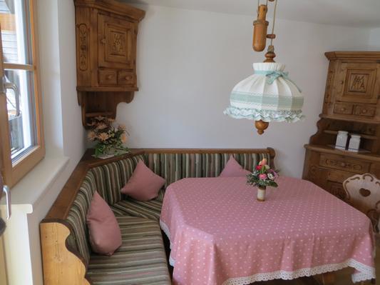 Ferienwohnung Gästehaus am Berg, Ferienwohnung Talblick, 2 Schlafzimmer (817277), Hirschegg, Kleinwalsertal, Vorarlberg, Österreich, Bild 12