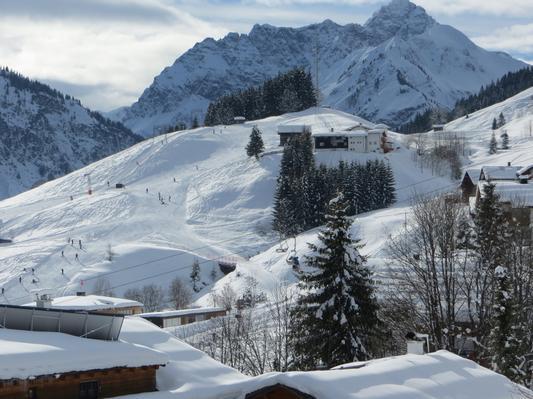 Ferienwohnung Gästehaus am Berg, Ferienwohnung Talblick, 2 Schlafzimmer (817277), Hirschegg, Kleinwalsertal, Vorarlberg, Österreich, Bild 13