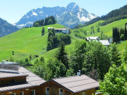 Ferienwohnung Gästehaus am Berg, Ferienwohnung Talblick, 2 Schlafzimmer (817277), Hirschegg, Kleinwalsertal, Vorarlberg, Österreich, Bild 14