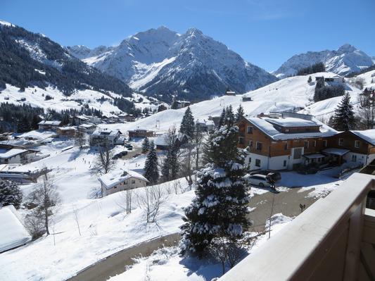 Ferienwohnung Gästehaus am Berg, Ferienwohnung Talblick, 2 Schlafzimmer (817277), Hirschegg, Kleinwalsertal, Vorarlberg, Österreich, Bild 15