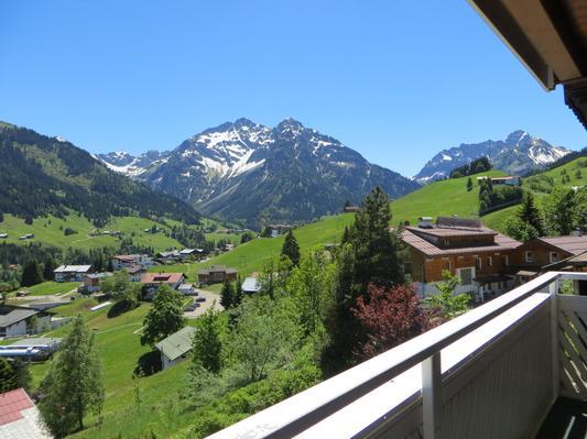 Ferienwohnung Gästehaus am Berg, Ferienwohnung Talblick, 2 Schlafzimmer (817277), Hirschegg, Kleinwalsertal, Vorarlberg, Österreich, Bild 16