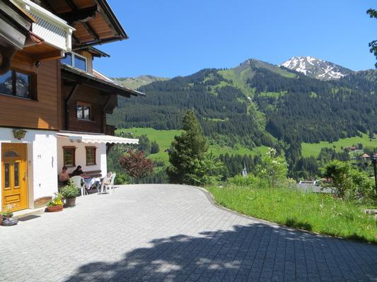 Ferienwohnung Gästehaus am Berg, Ferienwohnung Talblick, 2 Schlafzimmer (817277), Hirschegg, Kleinwalsertal, Vorarlberg, Österreich, Bild 2