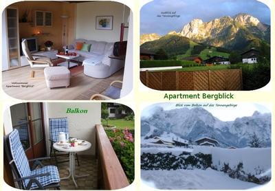 Appartement de vacances Apartment Bergblick - Haus Dreier Salzburger Land (822385), Abtenau, Tennengau, Salzbourg, Autriche, image 9