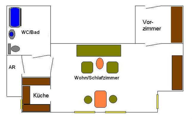 Appartement de vacances Apartment Alt-Wien 14 in Wien-Penzing, Österreich (830520), Vienne, , Vienne, Autriche, image 15