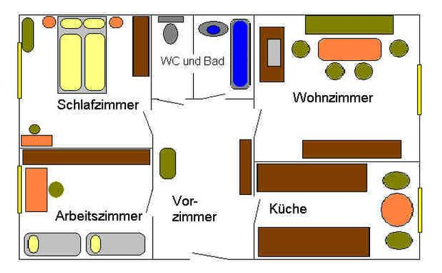 Appartement de vacances Appartement Alt-Wien 13 in Wien-Hietzing, Österreich (830552), Vienne, , Vienne, Autriche, image 7
