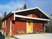 Blockhaus Schwedisch Lappland am Polarkreis Ferienhaus in Schweden