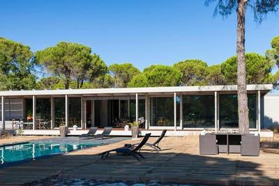 Ferienhaus Desigervilla in Comporta (neue Côte d'Azur), Glasfensterfront, sehr luxuriös (834503), Comporta, Costa Azul (PT), Alentejo, Portugal, Bild 16