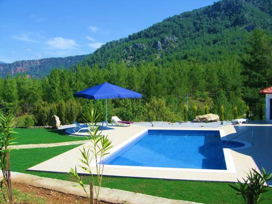Ferienhaus Luxuriöse Traumvilla mit Berg-/Seepanorama, BBQ, Whirlpool, Luxusdusche (845778), Dalaman, , Ägäisregion, Türkei, Bild 8