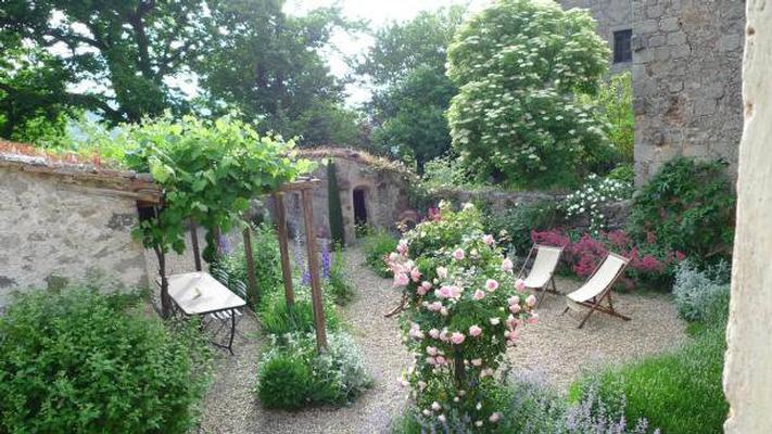 Ferienhaus castiglione d 39 orcia mit terrasse oder balkon f r bis zu 4 personen mieten - Toskana garten ...