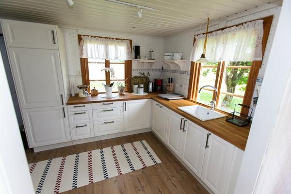 Schwedische kücheneinrichtung  Ferienhaus Värnamo mit Bootsverleih für bis zu 6 Personen mieten