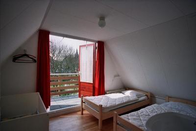 Große Schlafzimmer.