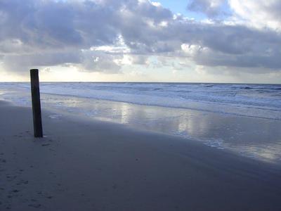 Schönes Strand.