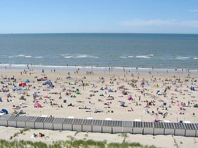 Egmond aan Zee mit einem schönes Strand.