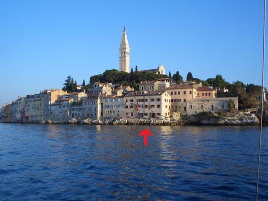 Ferienwohnung FEWO-5 in ROVINJ direkt am Meer (96165), Rovinj, , Istrien, Kroatien, Bild 3
