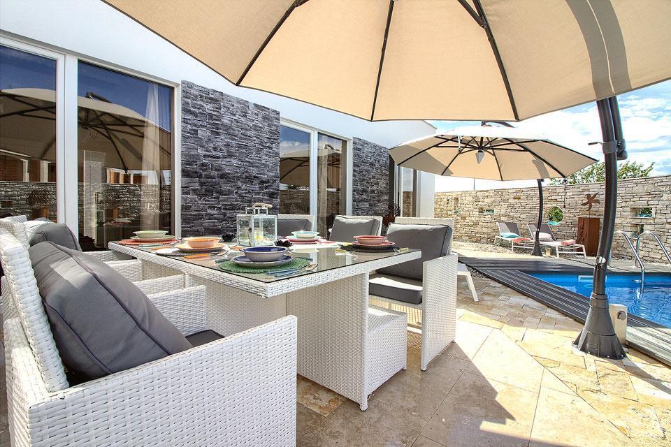 Ferienhaus Luxus Villa Darte mit beheiztem Pool (971395), Kanfanar, , Istrien, Kroatien, Bild 6