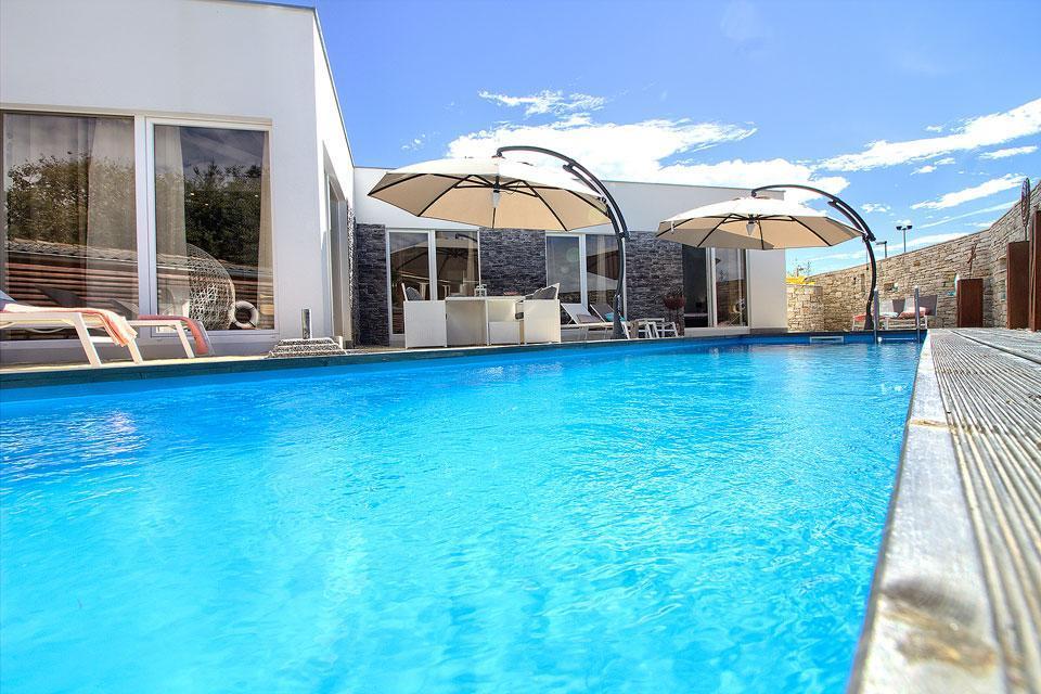 Ferienhaus Luxus Villa Darte mit beheiztem Pool (971395), Kanfanar, , Istrien, Kroatien, Bild 4