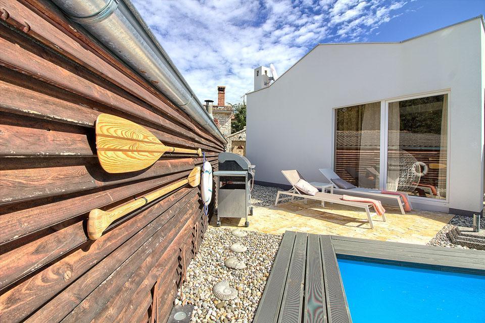 Ferienhaus Luxus Villa Darte mit beheiztem Pool (971395), Kanfanar, , Istrien, Kroatien, Bild 12