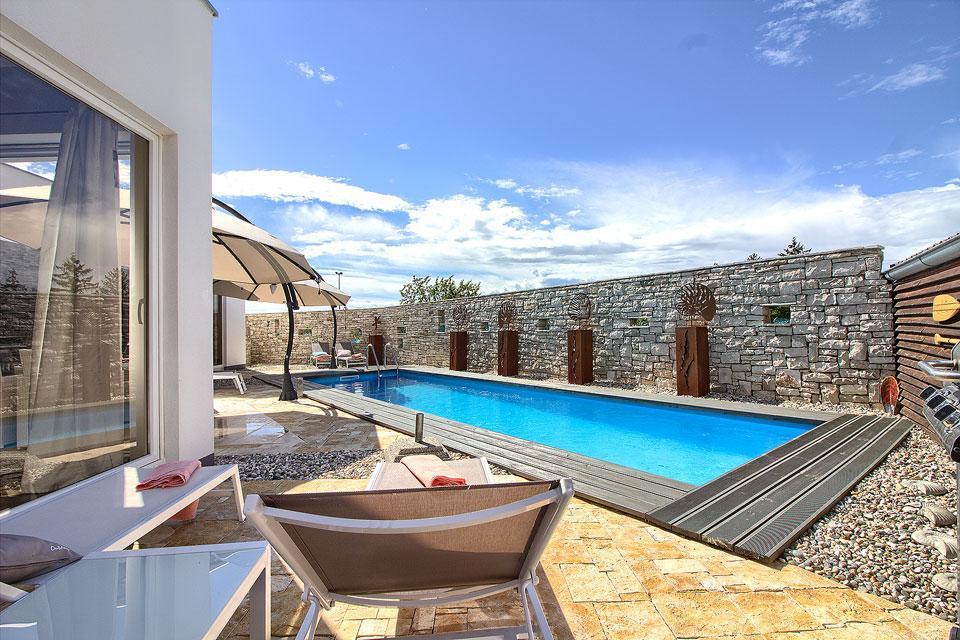 Ferienhaus Luxus Villa Darte mit beheiztem Pool (971395), Kanfanar, , Istrien, Kroatien, Bild 3