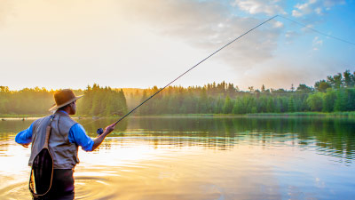 Holiday homes for anglers