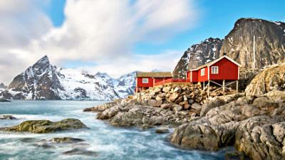 Ferienhaus und Ferienwohnung in Skandinavien
