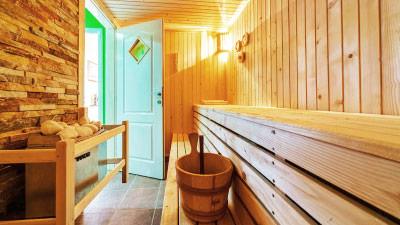 Ferienhaus und Ferienwohnung mit Sauna