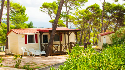 Camping holidays - mobile holiday homes