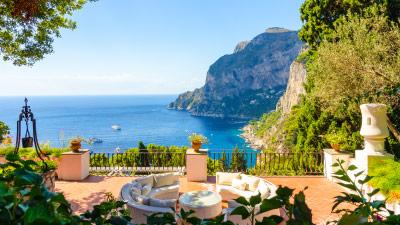 Ferienhaus und Ferienwohnung mit Meerblick