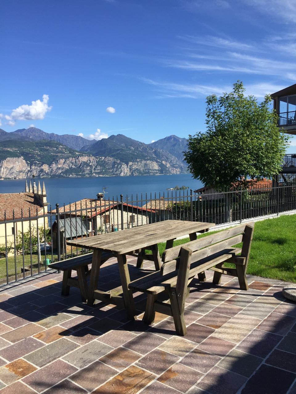 Casa Mary Wohnung n. 2 mit Seeblick   Gardasee - Lago di Garda