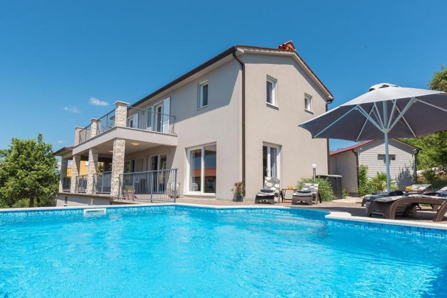 Ferienhaus Villa Diminici - der Zauber Istriens : Wohlfühlen und Entspannen in stilvollem Ambiente mi (2450306), Diminici, , Istrien, Kroatien, Bild 2