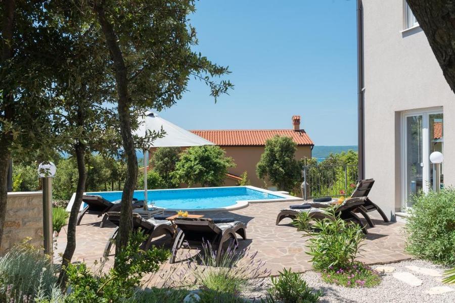 Ferienhaus Villa Diminici - der Zauber Istriens : Wohlfühlen und Entspannen in stilvollem Ambiente mi (2450306), Diminici, , Istrien, Kroatien, Bild 6