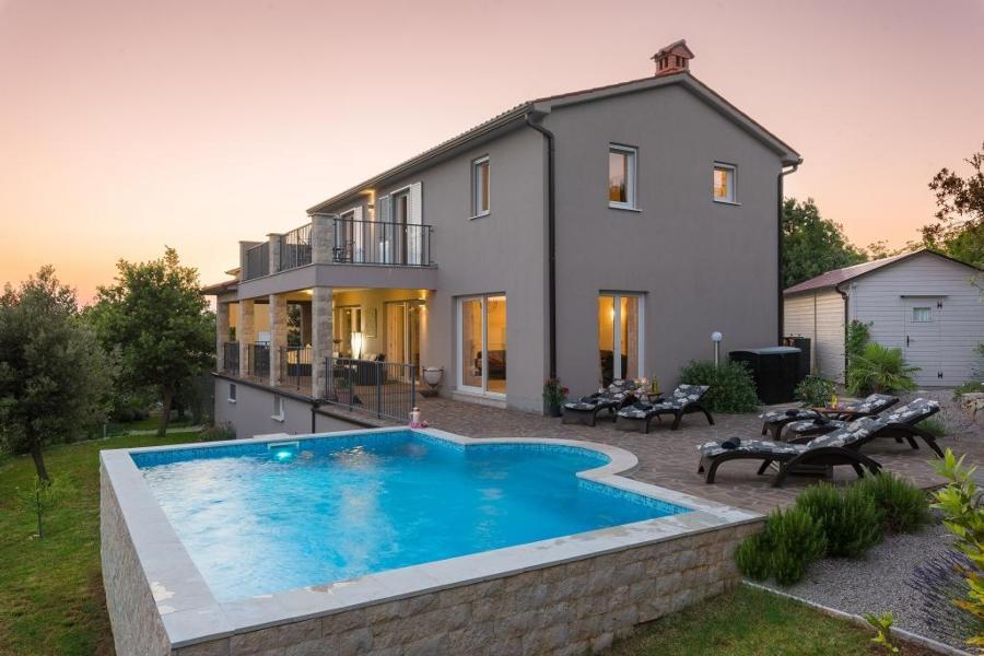 Ferienhaus Villa Diminici - der Zauber Istriens : Wohlfühlen und Entspannen in stilvollem Ambiente mi (2450306), Diminici, , Istrien, Kroatien, Bild 3